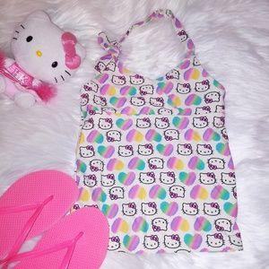 Hello Kitty Swim Tankini Top
